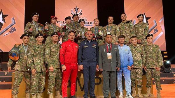 Predstaviteli Uzbekistana na chempionate mira po boksu sredi voyennыx zavoyevali 7 medaley - Sputnik Oʻzbekiston
