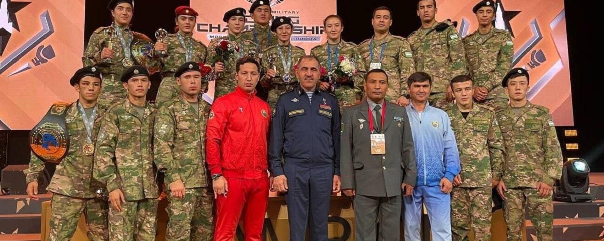 Представители Узбекистана на чемпионате мира по боксу среди военных завоевали 7 медалей - Sputnik Ўзбекистон, 1920, 26.09.2021