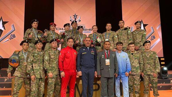 Сборная Узбекистана на чемпионате мира по боксу среди военнослужащих в г. Москве - Sputnik Узбекистан