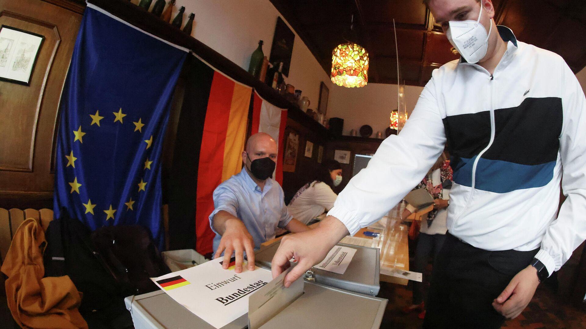 Выборы в парламент Германии - Sputnik Ўзбекистон, 1920, 26.09.2021