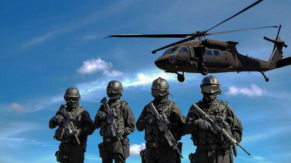 Военные, иллюстративное фото - Sputnik Узбекистан