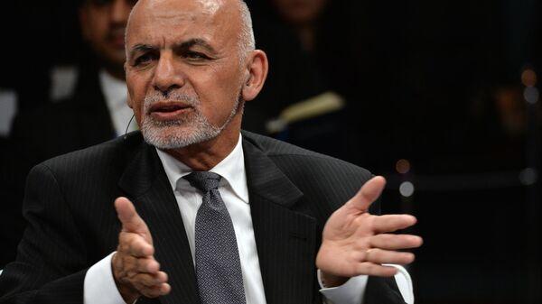 Бывший президент Афганистана Ашраф Гани - Sputnik Ўзбекистон