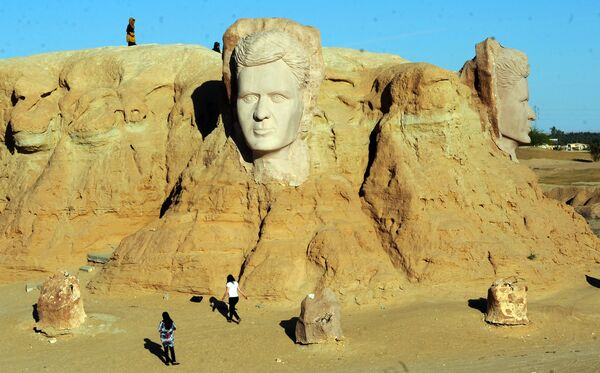 По словам авторов фильма, ни одно место не подходило для его съемок лучше, чем пустыня Руб-эль-Хали на Аравийском полуострове. - Sputnik Узбекистан