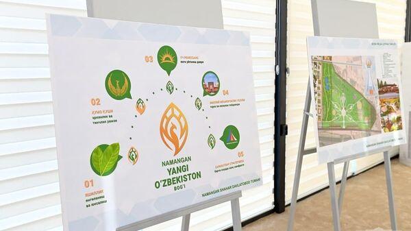 Презентован проект городка Новый Наманган - Sputnik Узбекистан