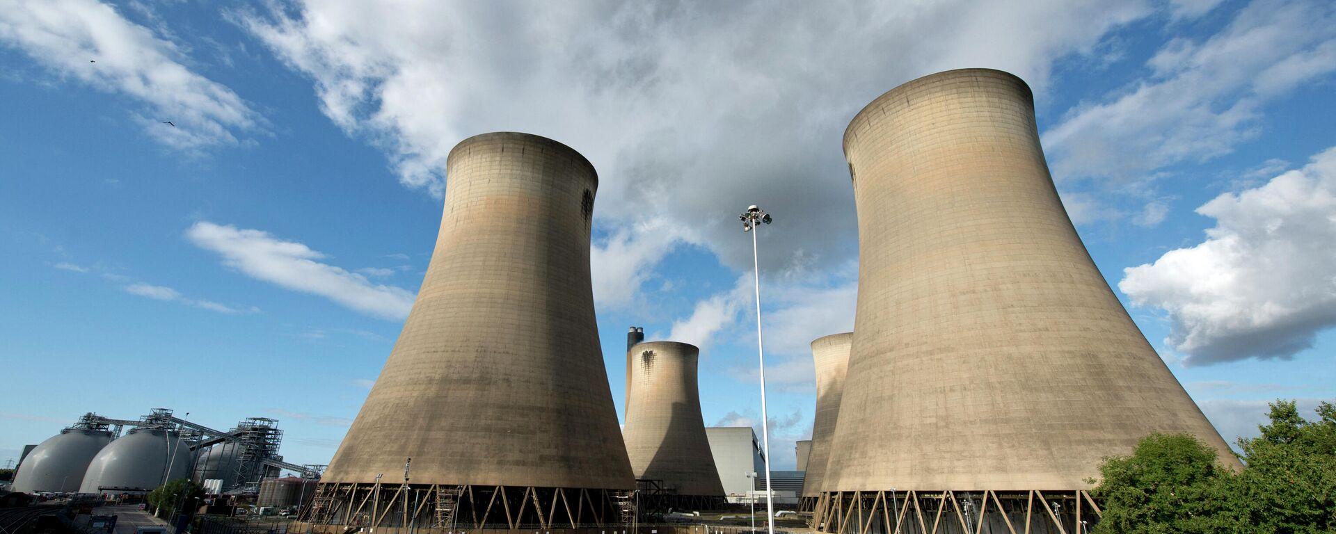 Угольная электростанция Drax в северной Англии - Sputnik Узбекистан, 1920, 28.09.2021