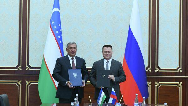 Визит Генерального прокурора Игоря Краснова РФ в Ташкент - Sputnik Узбекистан