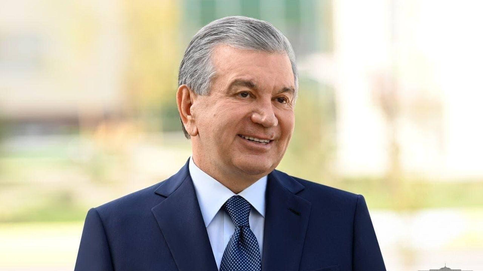 Президент Узбекистана Шавкат Мирзиёев - Sputnik Ўзбекистон, 1920, 30.09.2021