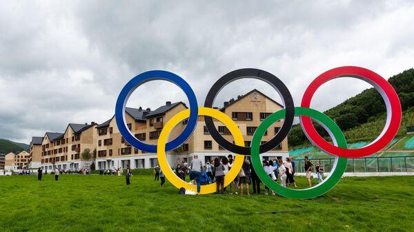 Олимпийские объекты зимних Олимпийских игр-2022 в Пекине - Sputnik Узбекистан