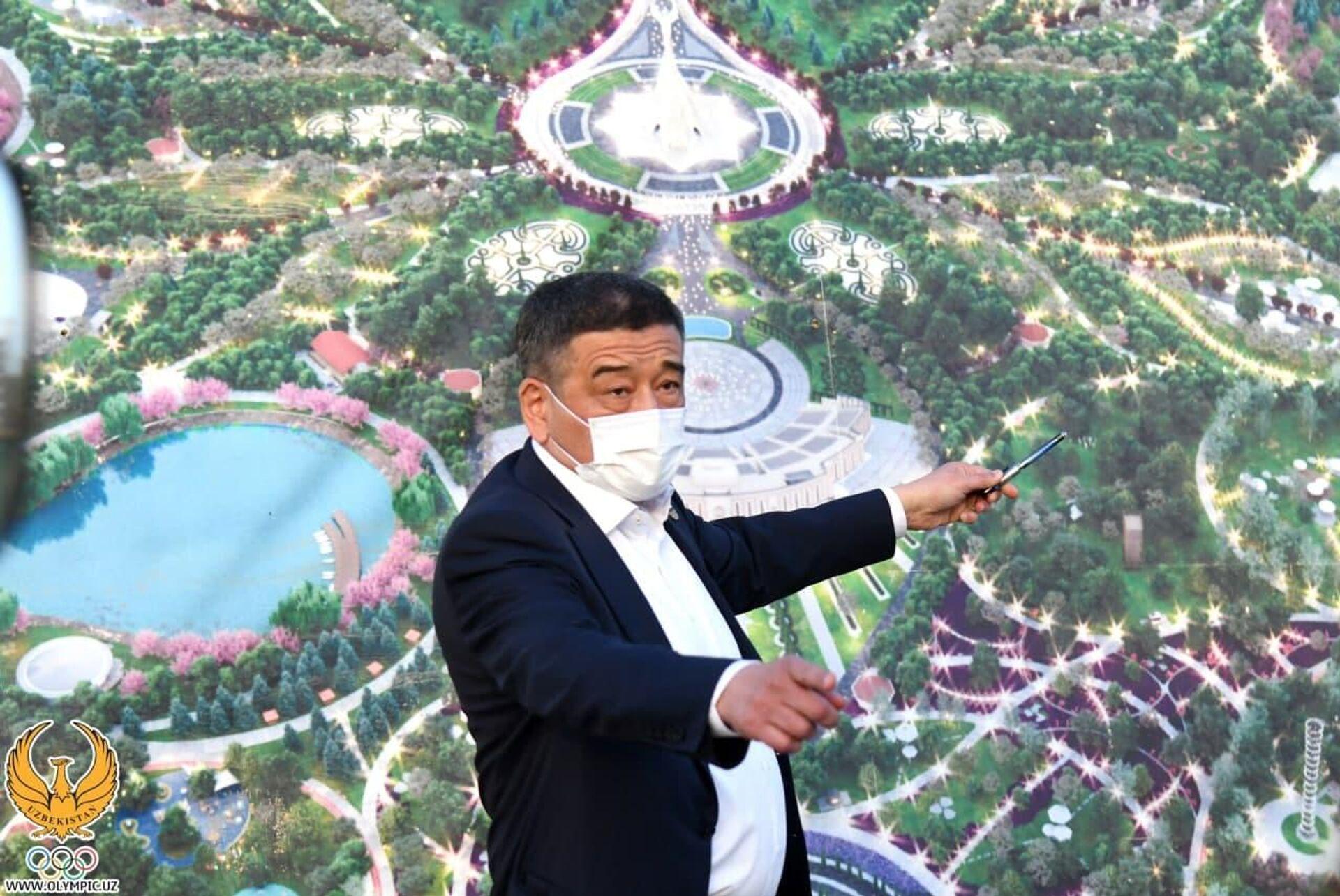 Президент Олимпийского комитета России прибыл в Ташкент - Sputnik Узбекистан, 1920, 30.09.2021