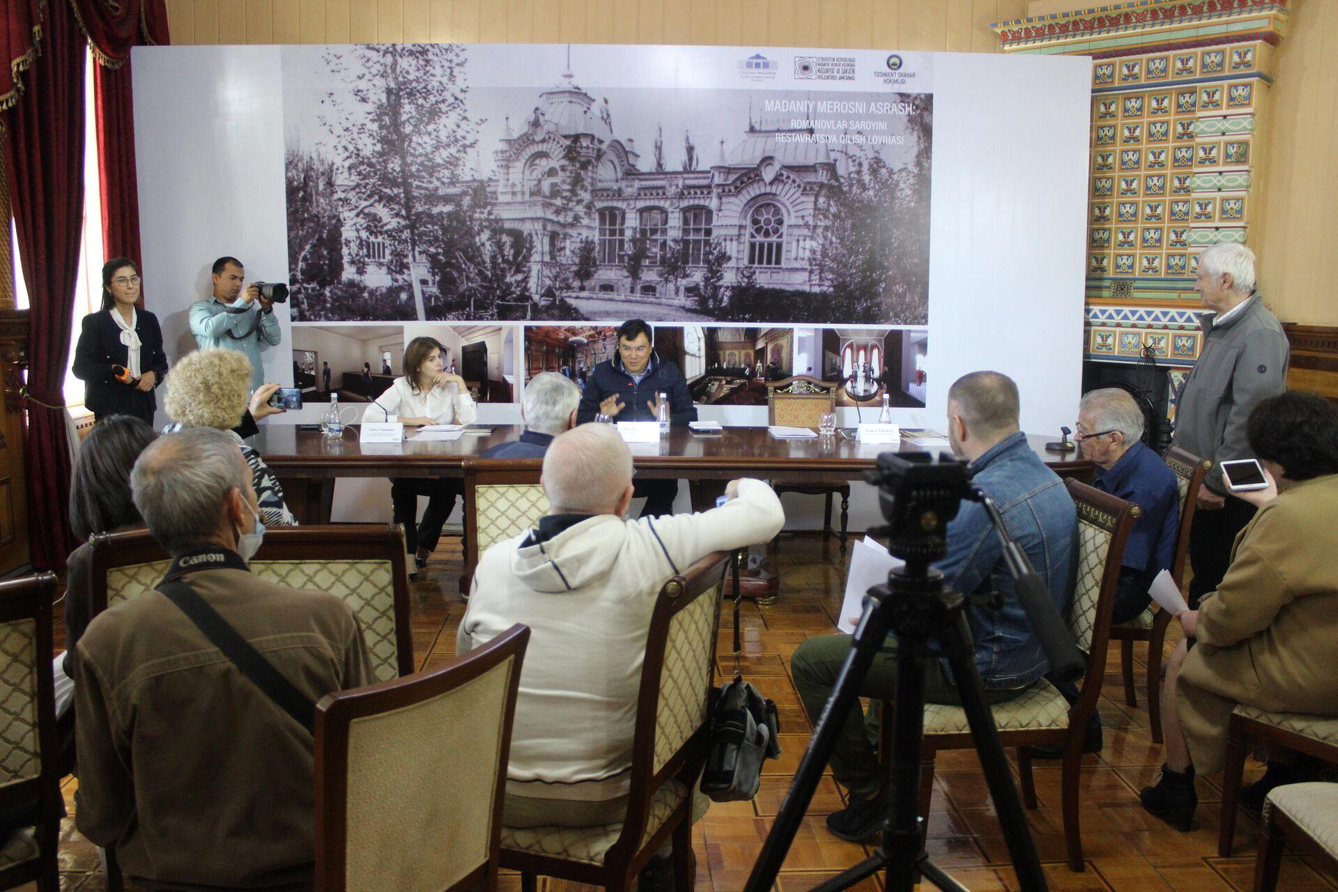 В особняке Великого князя Романова откроют филиал Музея искусств - Sputnik Узбекистан, 1920, 03.10.2021