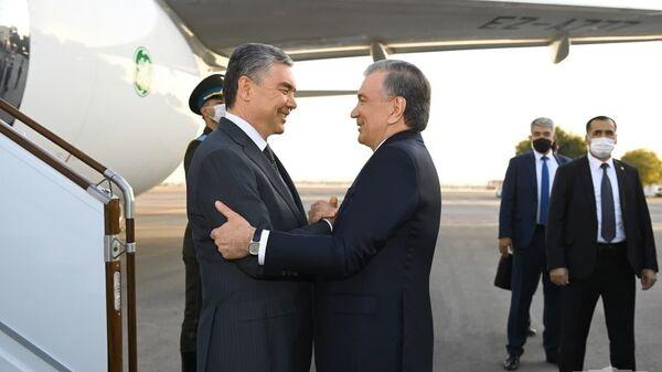 Президент Туркменистана Гурбангулы Бердымухамедов прибыл в Узбекистан с официальным визитом. - Sputnik Узбекистан