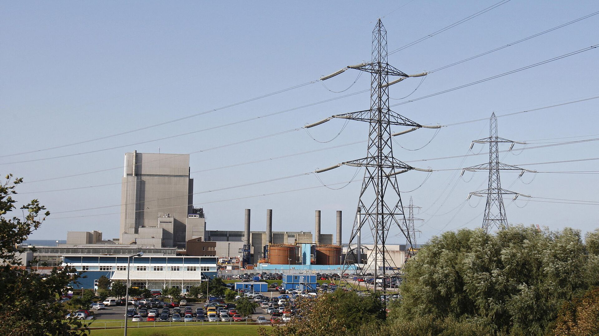 АЭС Хейшем в Великобритании  - Sputnik Узбекистан, 1920, 05.10.2021