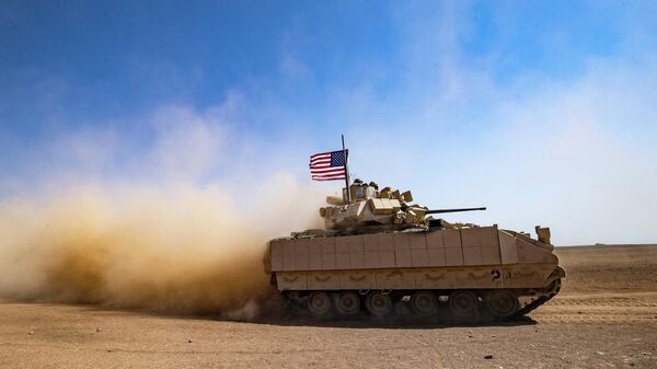 Американский танк - Sputnik Узбекистан