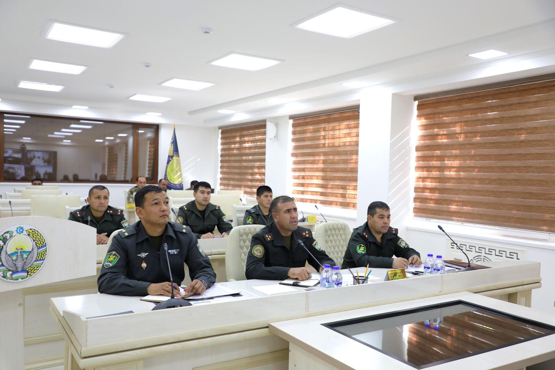 В Нукусе военные провели онлайн совешание со своими индийскими коллегами - Sputnik Узбекистан, 1920, 07.10.2021