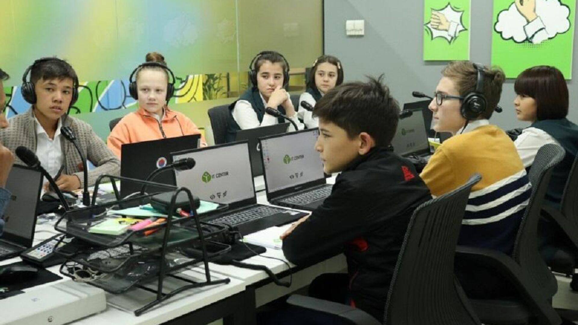 It-Park открыл курсы для слабослышащих детей - Sputnik Ўзбекистон, 1920, 07.10.2021