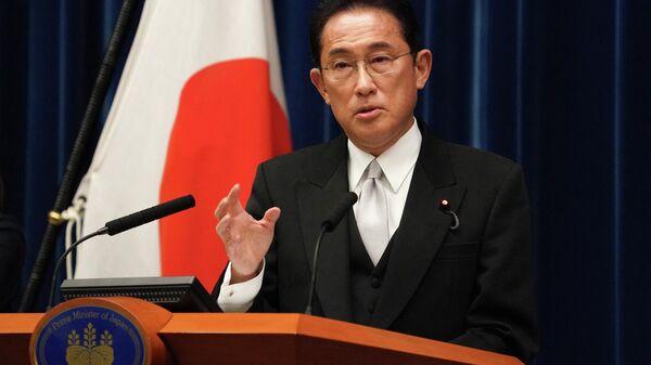 Премьер-министр Японии Фумио Кисиду - Sputnik Ўзбекистон