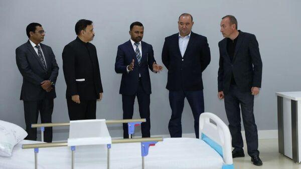 Открытие многофункциональной онкологической клиники в Ташкентской области - Sputnik Узбекистан