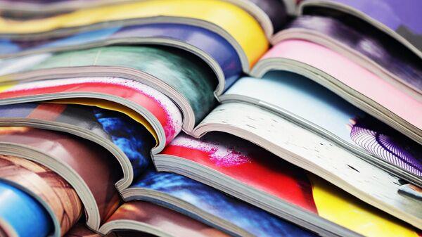 Журналы, иллюстративное фото - Sputnik Узбекистан