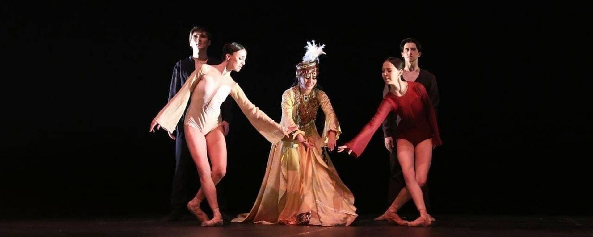 В нескольких городах России состоится постановка балета Лазги — танец души и любви - Sputnik Узбекистан, 1920, 08.10.2021