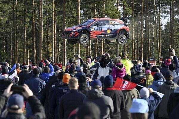 Финляндияда World Rally Championship пойгаси. - Sputnik Ўзбекистон