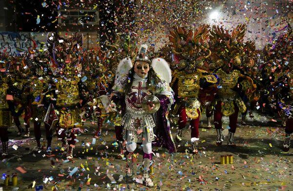 Боливиядаги Оруро карнавали. - Sputnik Ўзбекистон