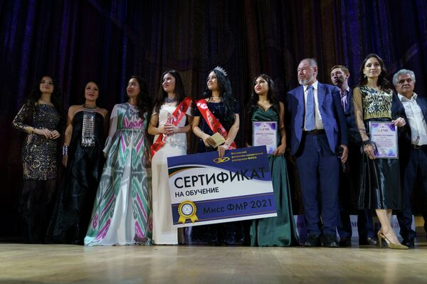 Конкурс красоты, организованный Федерацией мигрантов - Sputnik Узбекистан