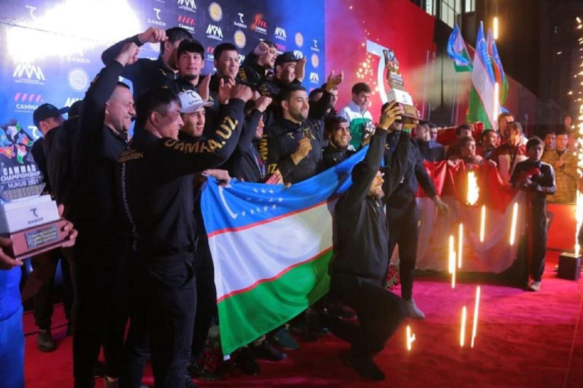 В Нукусе завершился чемпионат Центральной Азии по смешанным боевым искусствам - Sputnik Узбекистан, 1920, 11.10.2021