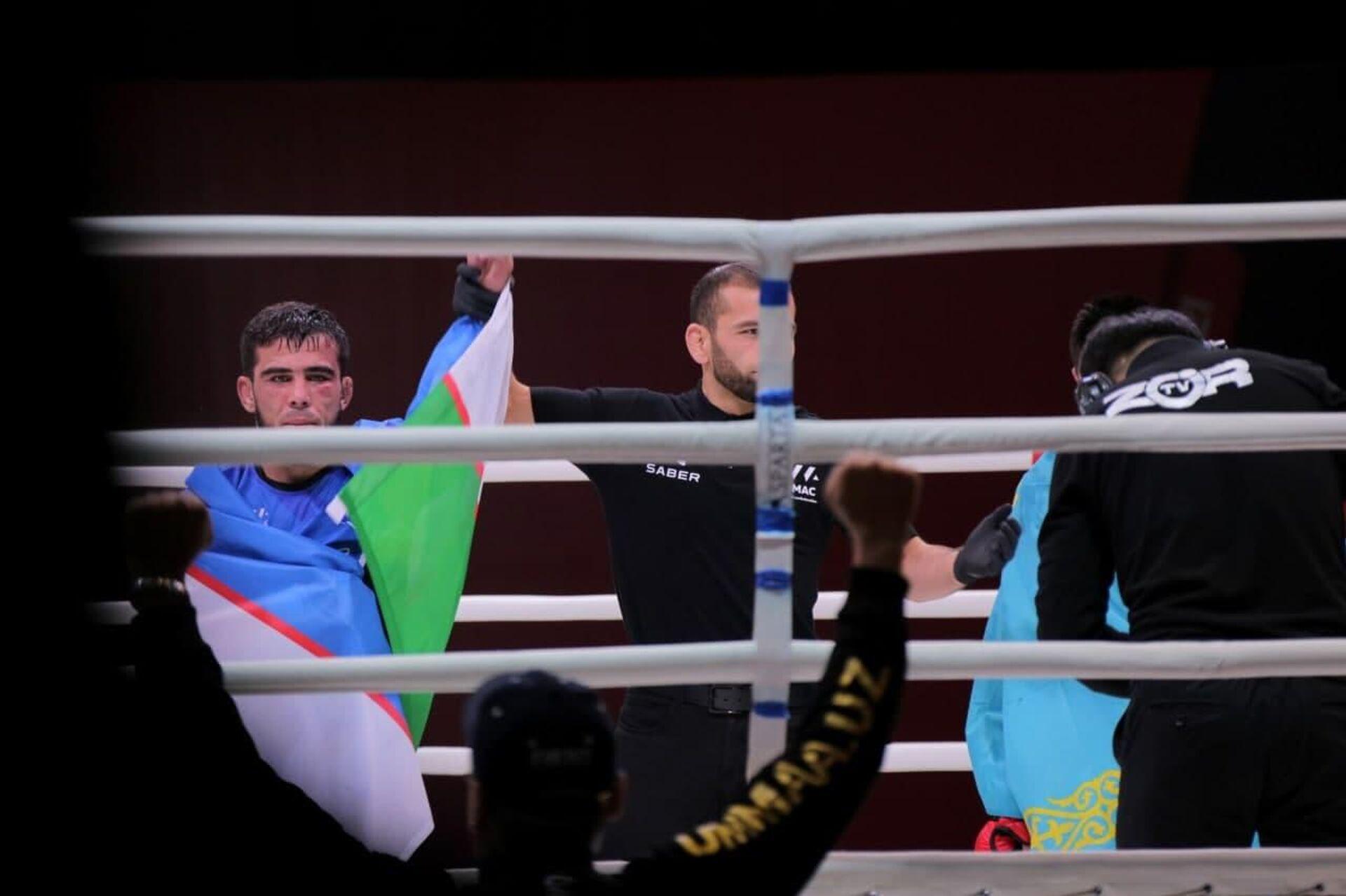 В Нукусе завершился чемпионат Центральной Азии по смешанным боевым искусствам - Sputnik Ўзбекистон, 1920, 11.10.2021