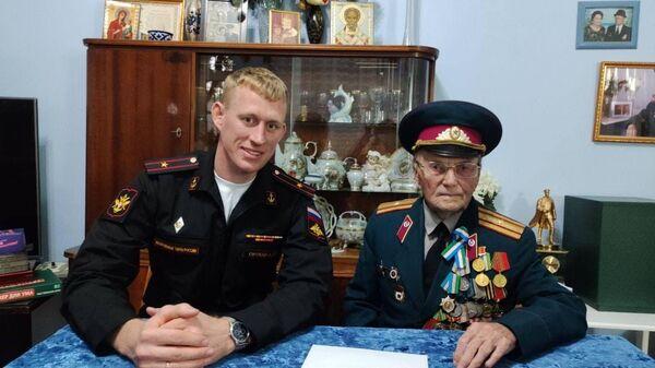 Акция поддержки ветеранов военных действий со стороны Посольства РФ в Узбекистане - Sputnik Узбекистан