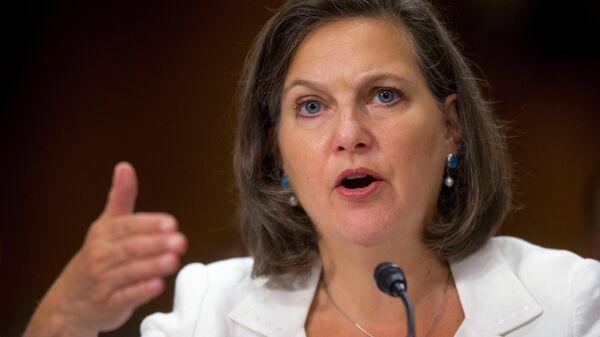 Заместитель госсекретаря США Виктория Нуланд - Sputnik Узбекистан