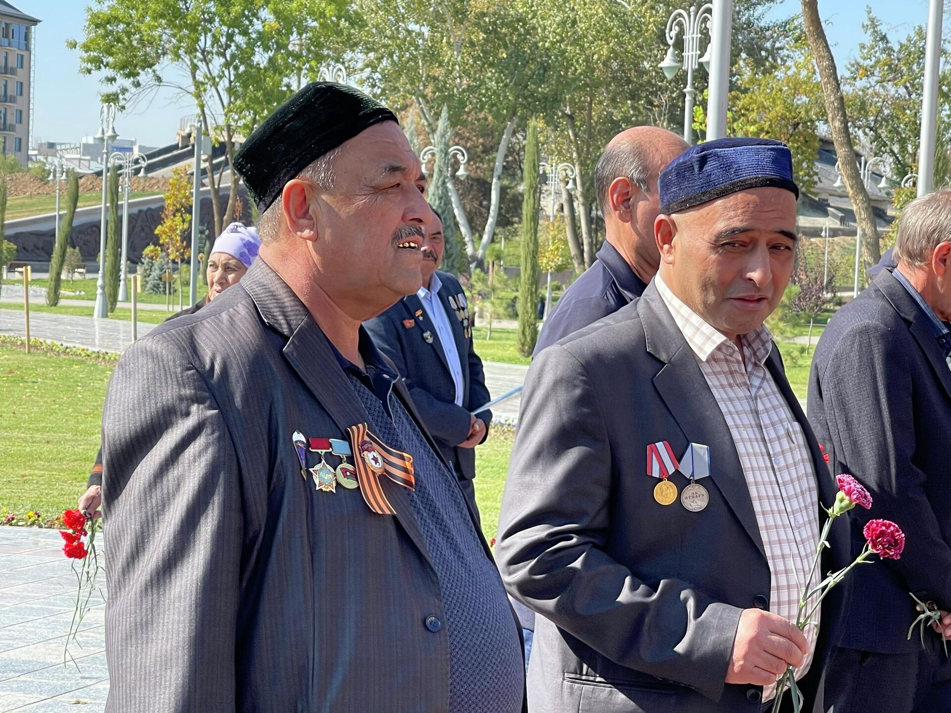 В Ташкенте провели торжественное мероприятие в честь воинов-интернационалистов - Sputnik Ўзбекистон, 1920, 12.10.2021