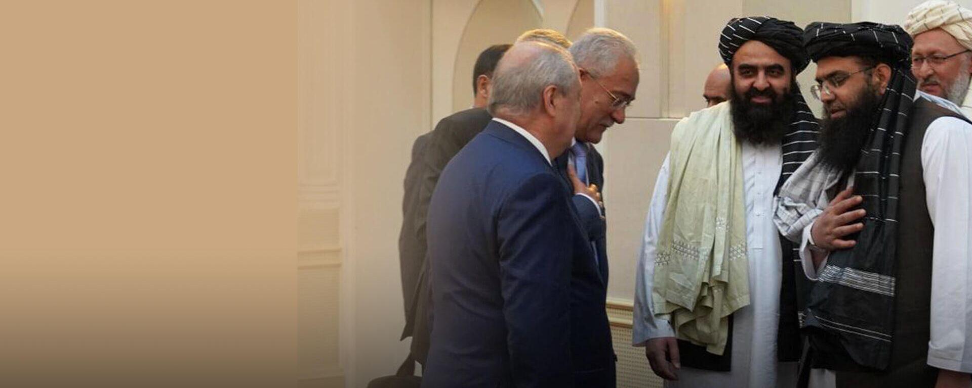 Клинцевич о перспективах переговоров Ташкента и Кабула - Sputnik Узбекистан, 1920, 12.10.2021