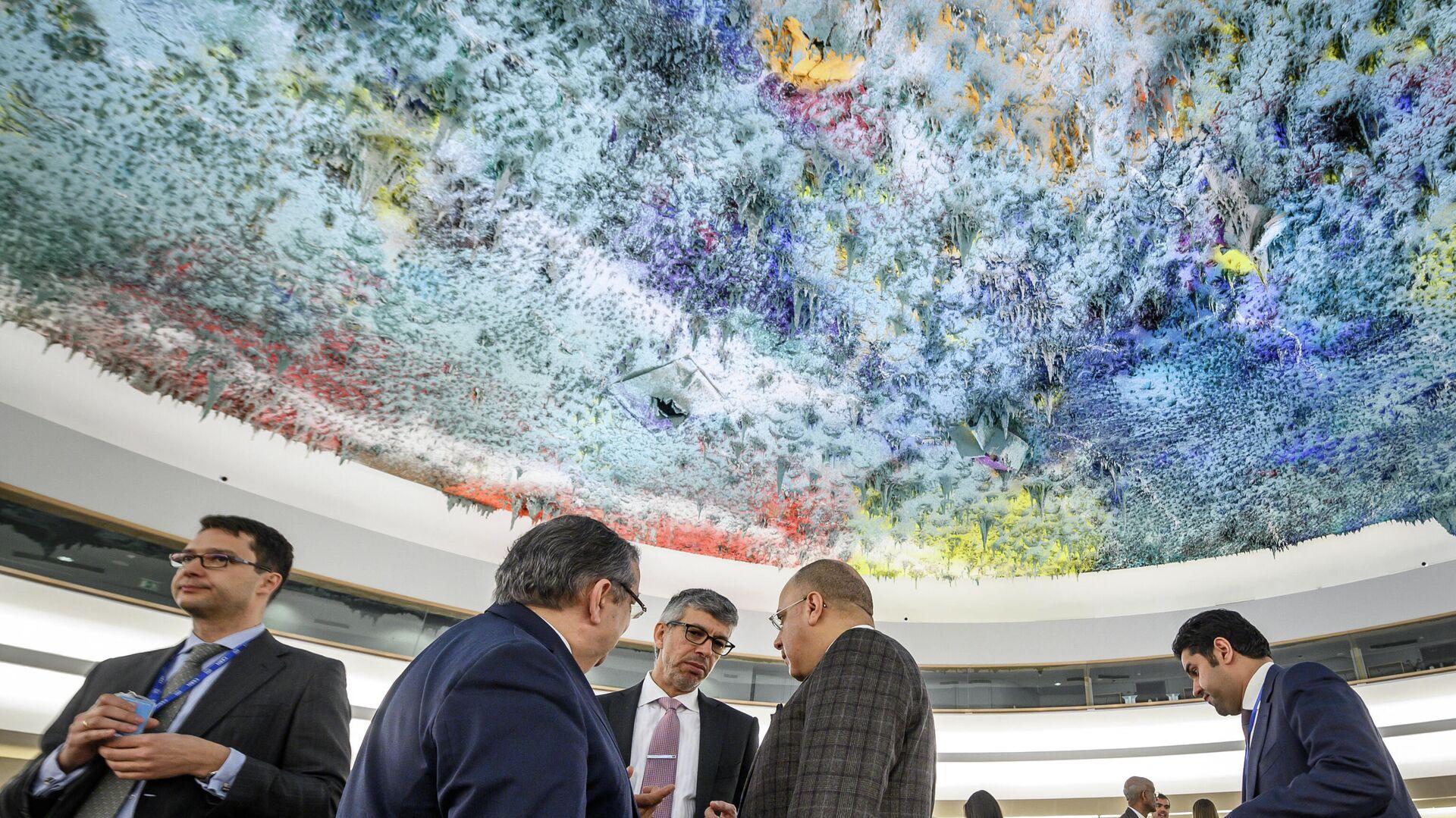 Заседание Совета по правам человека ООН в Женеве - Sputnik Узбекистан, 1920, 13.10.2021