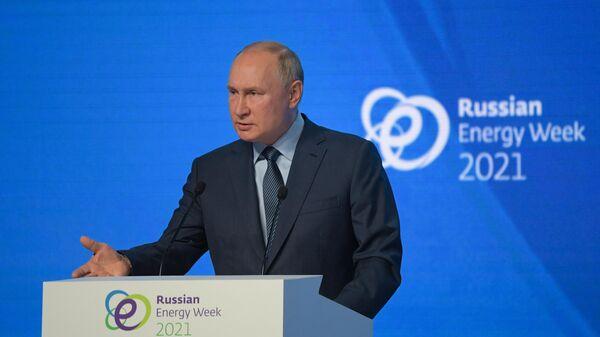 Президент РФ Владимир Путин  - Sputnik Ўзбекистон