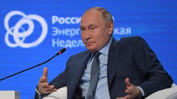 Президент РФ Владимир Путин  - Sputnik Узбекистан