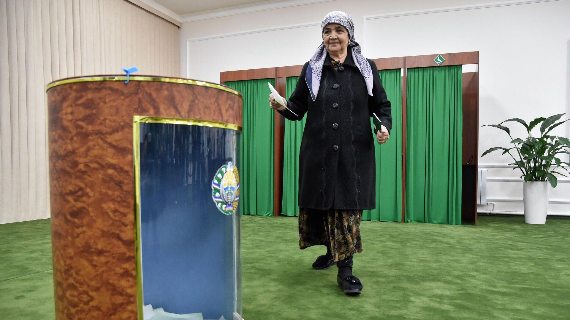 Выборы президента Узбекистана, архивное фото - Sputnik Узбекистан, 1920, 14.10.2021