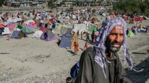 Лагерь афганских беженцев - Sputnik Узбекистан