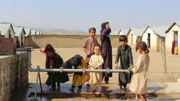 Лагерь беженцев в Хосте, Афганистан - Sputnik Узбекистан