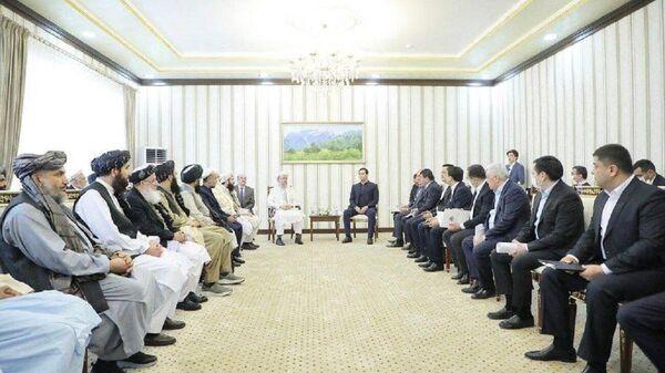 В Термезе состоялась встреча делегаций Узбекистана и Афганистана. - Sputnik Узбекистан