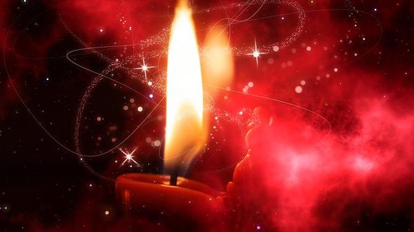 Свеча, иллюстративное фото - Sputnik Узбекистан