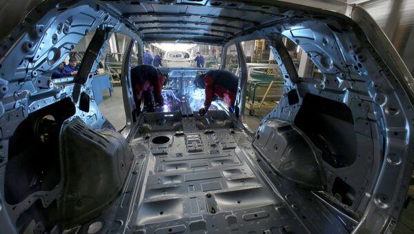 Vыpusk avtomobiley na predpriyatii Djeneral Motors - Sputnik Oʻzbekiston