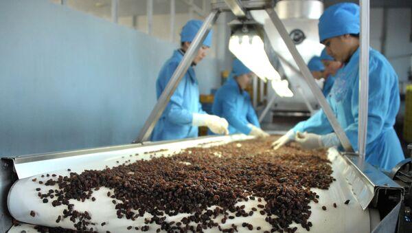 Предприятие Samrin Trade по производству сухофруктов в Самарканде - Sputnik Ўзбекистон