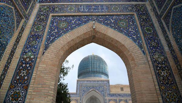 Gur-Emír — mavzoley Tamerlana (Amira Timura) i yego semi (Timuridov) v Samarkande - Sputnik Oʻzbekiston