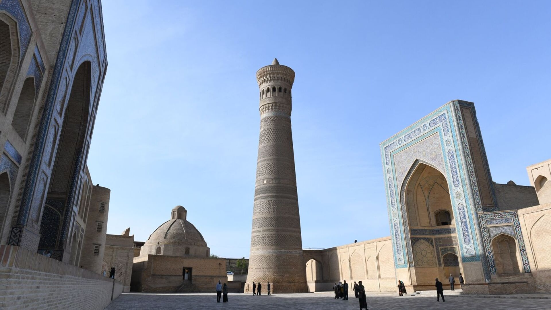 Minaret i mechet Kalyan, medrese Miri-Arab (Buxara) - Sputnik Oʻzbekiston, 1920, 11.02.2021