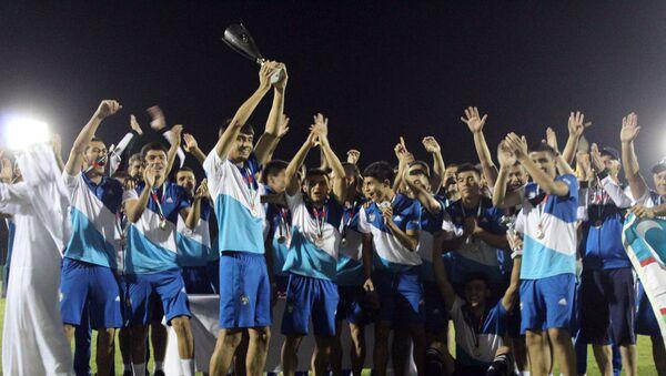 Олимпийская сборная Узбекистана – победитель международного турнира Dubai Cup - Sputnik Ўзбекистон