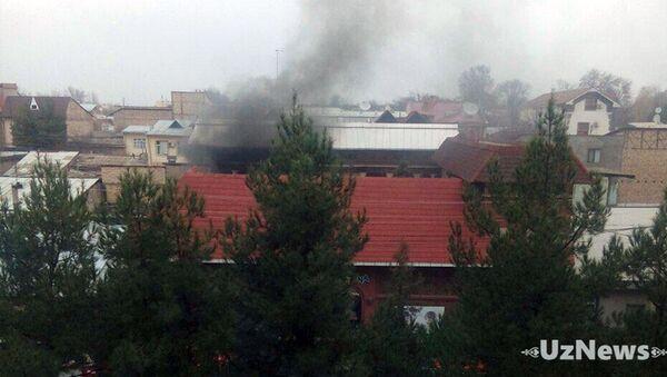 27 ноября, примерно в 12:26, произошло возгорание в ДОУ «Fortuna Child» на ул.Шохжахон Яккасарайского района г. Ташкента - Sputnik Ўзбекистон