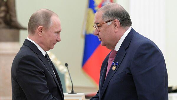 Президент РФ В. Путин вручил государственные награды - Sputnik Ўзбекистон