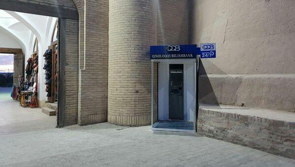 Bankomat v Xive - Sputnik Oʻzbekiston