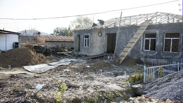 Stroyaщeyesya novoye zdaniye maxallinskogo soveta na Darxane v Tashkente - Sputnik Oʻzbekiston
