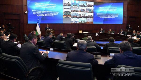 В Академии Вооруженных Сил проходит расширенное заседание Совета безопасности при Президенте Республики Узбекистан - Sputnik Ўзбекистон